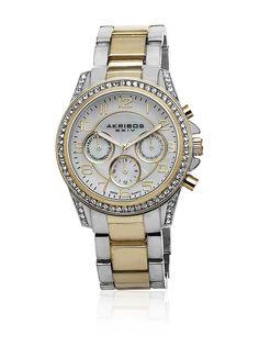 6bee2bf13619 Akribos XXIV Reloj con movimiento cuarzo suizo AK683TTG 39 mm en Amazon  BuyVIP