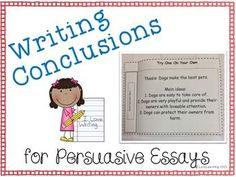 lesson plan on writing an effective conclusion