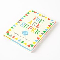 """""""You Are Super"""" Assorted Thank You Note Cards"""