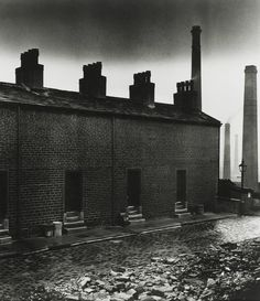 Coal Miners' Houses, East Durham photo by Bill Brandt, 1937