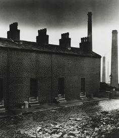 melisaki:  Coal Miners' Houses, East Durham  photo by Bill Brandt, 1937