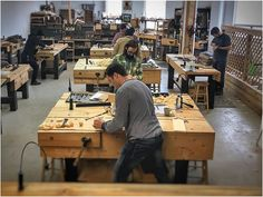 Saturdays at the Unplugged Woodshop Toronto. An amazing group today for our Hand Tool Bootcamp! What are you building today? Woodworking School, Woodworking Classes, Toronto Life, Tool Sheds, Hand Tools, Craft Projects, Group, Building, Amazing