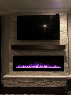 Kamin Wohnzimmer Modern Our new electric fireplace! Benefits of Baby Slings Article Body: If you are Fireplace Tv Wall, Linear Fireplace, Basement Fireplace, Fireplace Remodel, Fireplace Design, Fireplace Ideas, Fireplace Mantle, Kitchen Fireplaces, Wall Fireplaces
