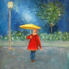 Evening Rain by Patricia Cleasby