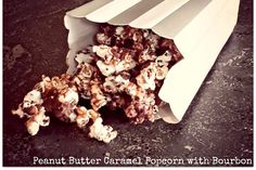 Peanut Butter Caramel Popcorn With Bourbon [Vegan, Gluten-Free] | One Green Planet