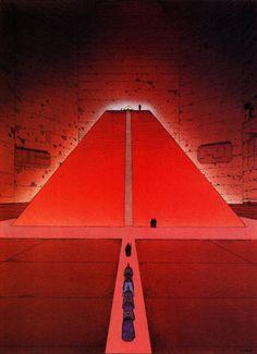acidadebranca:Architecture & Fantasy | Moebius (Jean Giraud) | 075