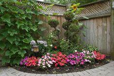 1000 images about gazebo gardens on pinterest corner for Backyard corner design ideas