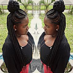 229 Best Braided Hairstyles Images Plaits Hairstyles African