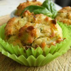 Thermomix Zucchini Basil Muffins