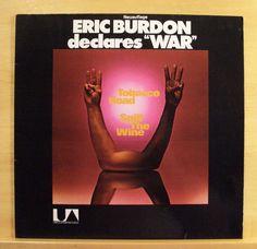 ERIC BURDON - Declare War - Vinyl LP - Tobacco Road Spill the Wine Roll on Kirk