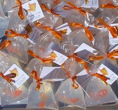 All Orange Goldfish Fish in a Bag Novelty Soap Fun and Games and Prizes x 100 soaps Etsy