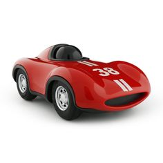 BRIGHT RED HIGH QUALITY RACING CAR