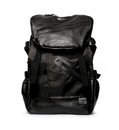 NEW A.B.E. Backpack by Sully Wong | $145 | The Sully Wong ABE (All Black Everything) backpack exhibits utilitarian style at its finest. The practical design and urban aesthetic are made for roaming city streets with everything necessary for work, gym time or the most spontaneous of sleepovers. | GOTSTYLE.CA
