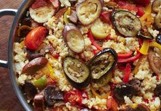 Paella vegetariana Carne, Vegetarian Recipes, Meat, Ethnic Recipes, Recipe Ideas, Gallery, Image, Style, Vegetarian Paella