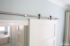for under $75 each. 6 Ft Modern Stainless Steel Interior Sliding Barn Wooden Door Hardware Track Set