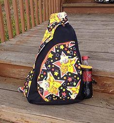 0ed881956e5 POKEMON STARS Sling Backpack Crossbody Bag ~ Loads of Pockets! Bottle  pouch