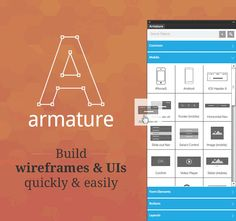 Armature: Drag-N-Drop Wireframing Tool for Illustrator - only $12! - MightyDeals