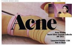 Image result for acne studios graphic design