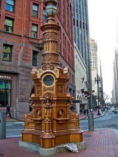 Lotta's Fountain;  San Francisco, CA
