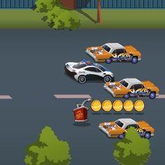 Jocuri cu Ultima cursa cu masini de politie
