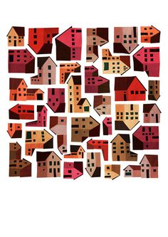 Emmanuelle Walker. - love this as a pattern and an illo