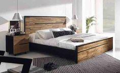 Holzbett AVANA aus Teak. Dekoration Beltrán, Ihr Webshop für Betten aus Holz.