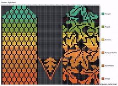 Knitted Mittens Pattern, Crochet Gloves, Knit Mittens, Mitten Gloves, Knitting Socks, Knitting Charts, Knitting Patterns, Crochet Patterns, Fair Isle Chart