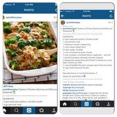 Chicken quinoa and broccoli