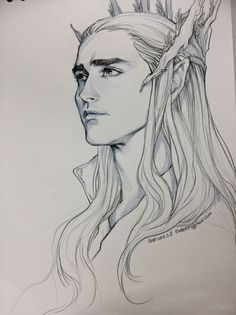 how to draw elves from lord of the rings - Google Search