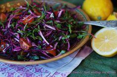 Kırmızı Lahana salatası / Салат из красной капусты