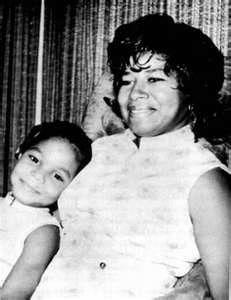 Young Janet Jackson and her mother, Katherine Jackson - janet-jackson Photo