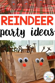 Classroom Reindeer Party Ideas by Teaching with Haley. I wanted to share some adorable ideas for your classroom Winter party! From Holiday cookie decorating ideas, reindeer ornaments to Reindeer antler hats. Fun Christmas and Holiday ideas for preschool, kindergarten, first grade, second grade, and more. Great for leading up to Christmas and the Winter break. Learn more Reindeer Ornaments, Christmas Ornament Crafts, Holiday Fun, Holiday Ideas, Christmas Crafts, Holiday Activities, Craft Activities For Kids, Crafts For Kids, Craft Ideas