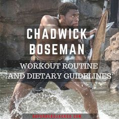 Chadwick Boseman Workout Routine and Diet: How to become Marvel's Black Panther Pyramid Training, Celebrity Workout, Celebrity Fitness, Celebrity Diets, Push Up Workout, Youtube Workout, Endurance Training, Local Gym, Gym Workouts