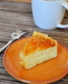 Apricots and Cream Upside Down Cake