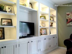 Custom Made Built-In Audio/Video Wall Unit by Wiggers Custom ...