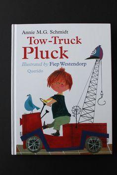Tow Truck Pluck is a wonderful Dutch children's book!