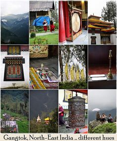 Gangtok, Sikkim  the place itself is a lottery. Not overly crowded and breathtaking