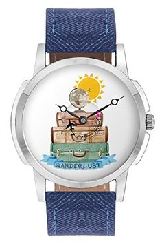 Buy travel watch bigowl airplane world map design leather strap buy travel watch bigowl airplane wanderlust design leather strap casual wrist watch gifts for gumiabroncs Choice Image