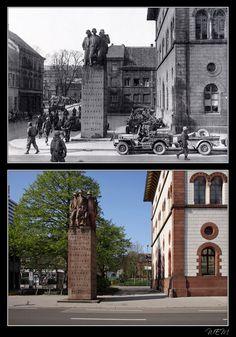 Kaiserslautern einst und heute - Stadtmitte