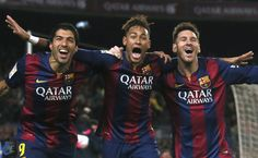 MSN – Messi – Suarez – Neymar  – The Best Strikers In The World