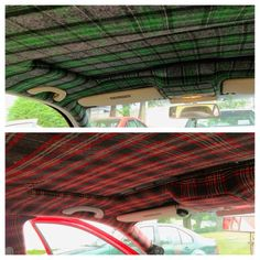 DIY Car Headliner: 4 Yards Of Any Fabric And 2 Cans 3M Super 90 Spray Adhesive. Average Cost: $40!