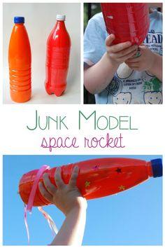 Junk model Space Rocket