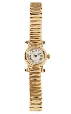 Cartier 18K Yellow Gold Ladies Diablo Watch