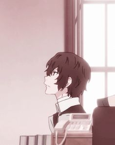 Find images and videos about gif, anime and japan on We Heart It - the app to get lost in what you love. Dazai Bungou Stray Dogs, Stray Dogs Anime, Cat Anime, Manga Anime, Naruto Anime, Anime Guys, Tattoos Anime, Poses Anime, Tsurezure Children
