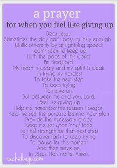 Very touching prayer.
