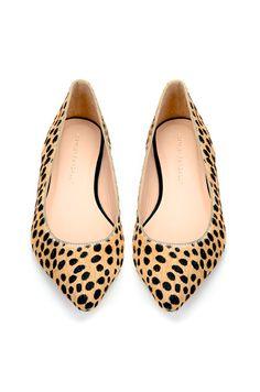 My leopard print soul mate flats.