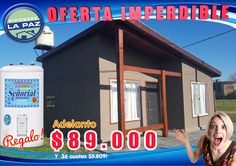 Esta Oferta es Imperdible! Modelo Exclusivo de Viviendas La Paz.