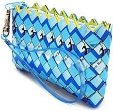 Candy-Wrapper Purse.  I love this and really want to make this