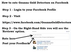 How to post Reviews on Facebook   Please feel free to leave one!