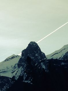 Out in Canmore Mount Everest, Mountains, Board, Nature, Travel, Naturaleza, Viajes, Traveling, Sign